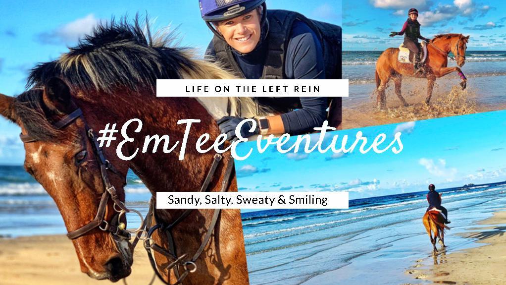 Sandy, Salty, Sweaty & Smiling #EmTeeEventures