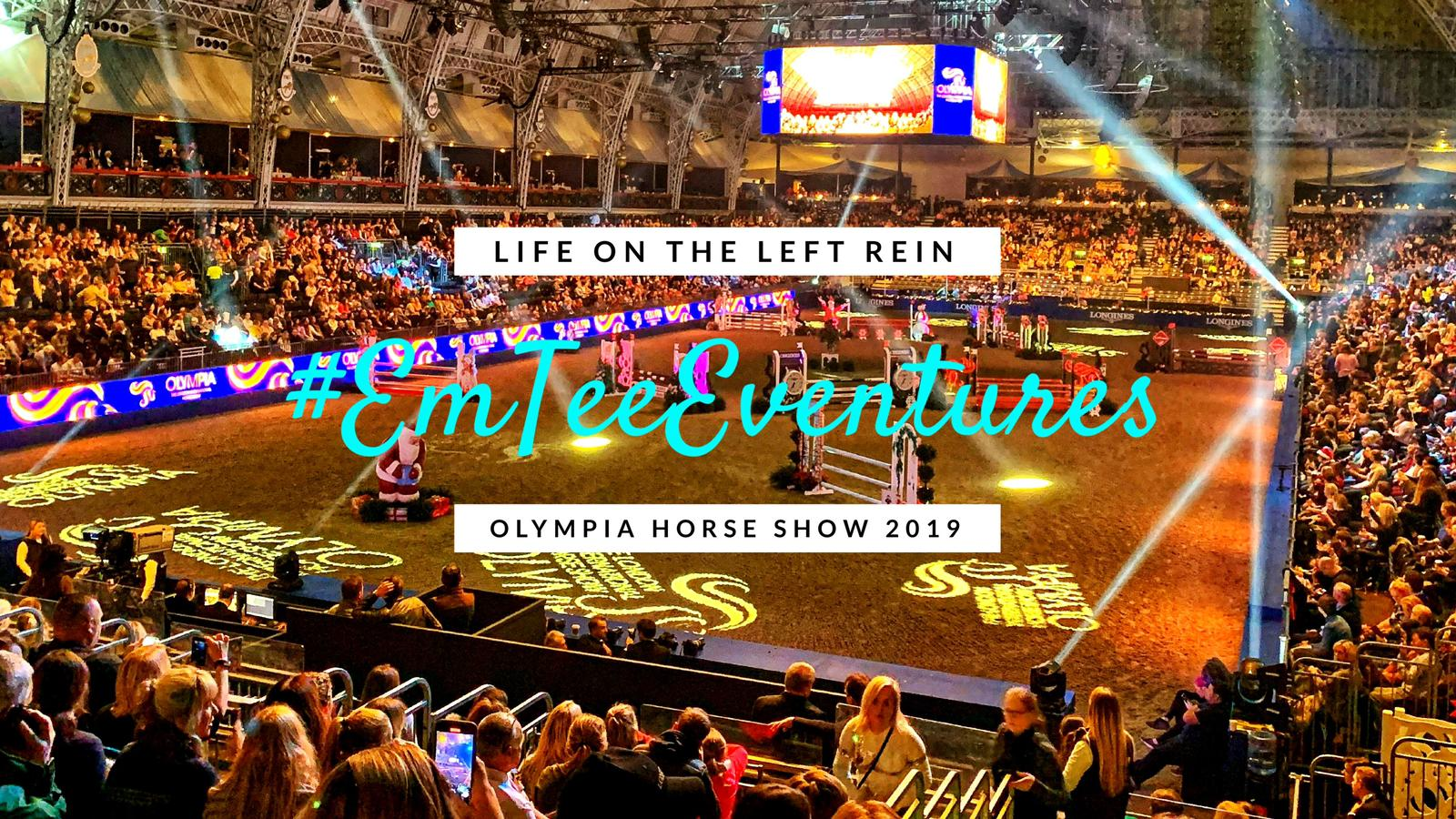 OLYMPIA HORSE SHOW 2019