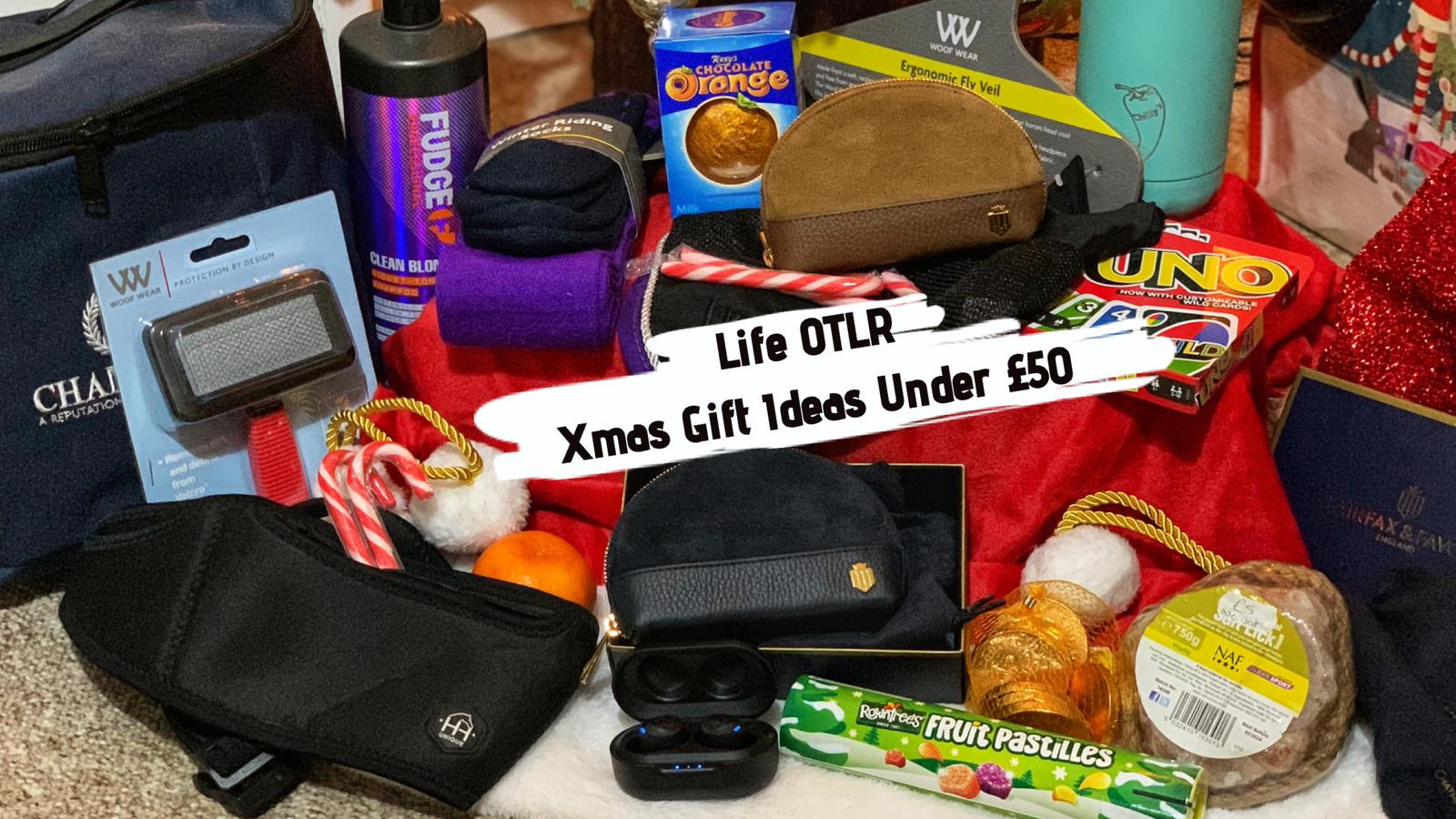 Christmas Gift Ideas Under £50 ~ LifeOTLR Vlog