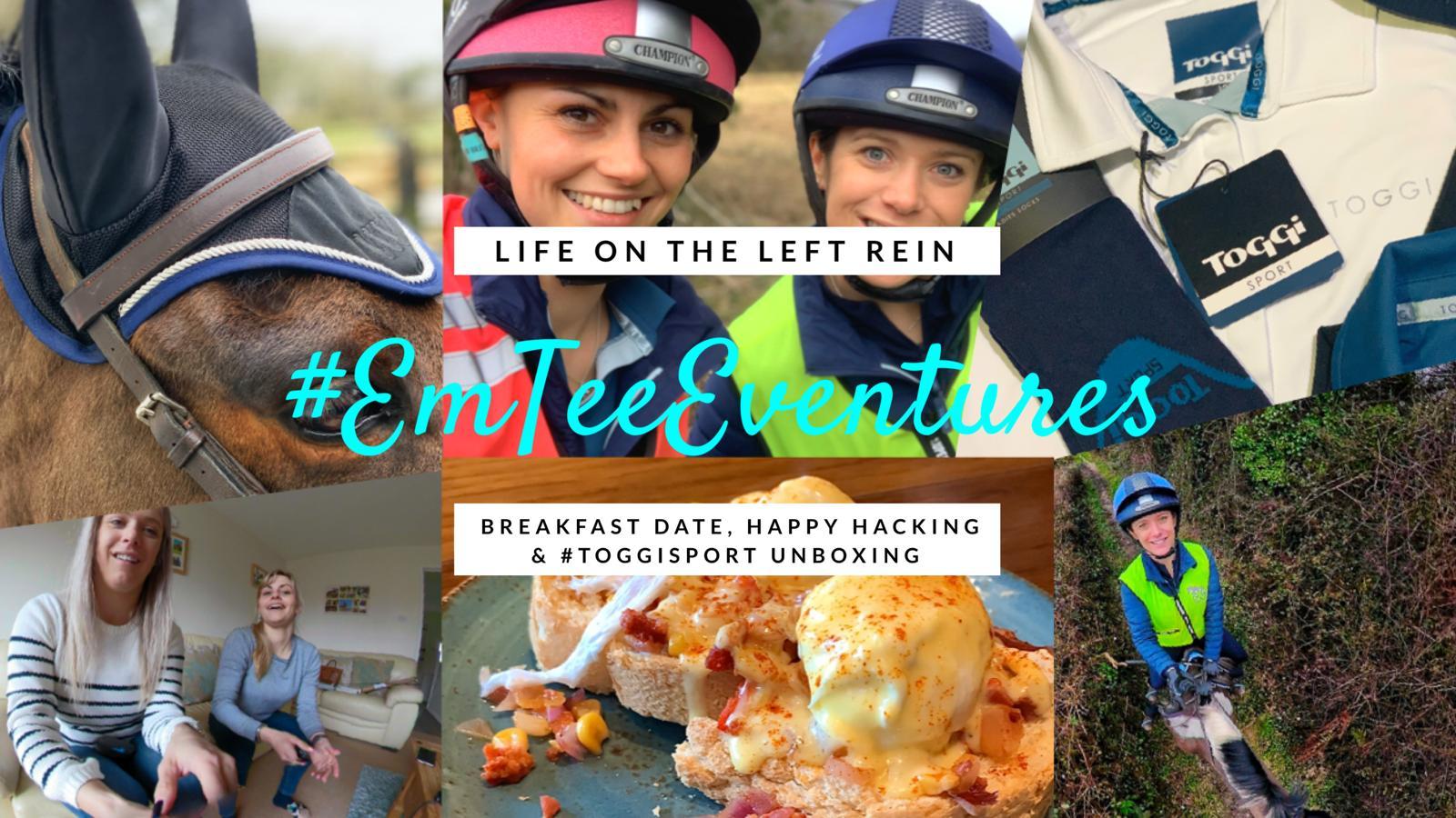 Breakfast Date, Happy Hacking & ToggiSport Unboxing #EmTeeEventures