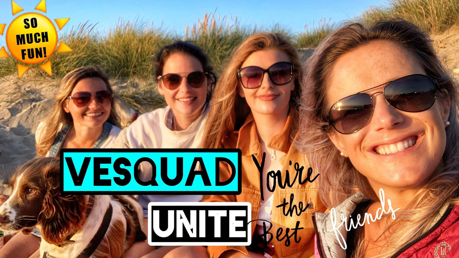 VESQUAD UNITE | Lucy & Meg come to Cornwall for a fun filled weekend, we finally all meet up!!