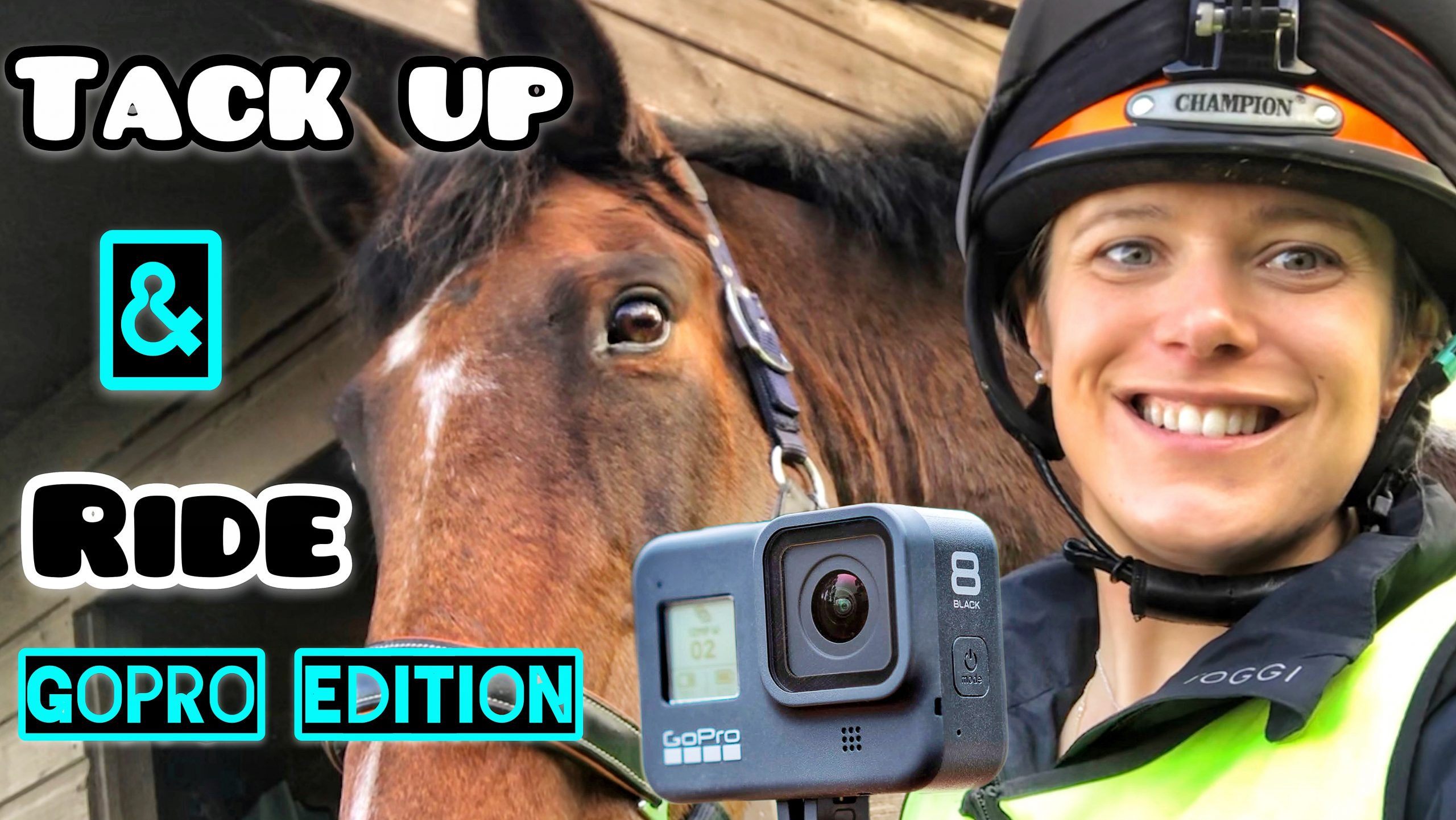 TACK UP AND RIDE WITH ME | GoPro Edition