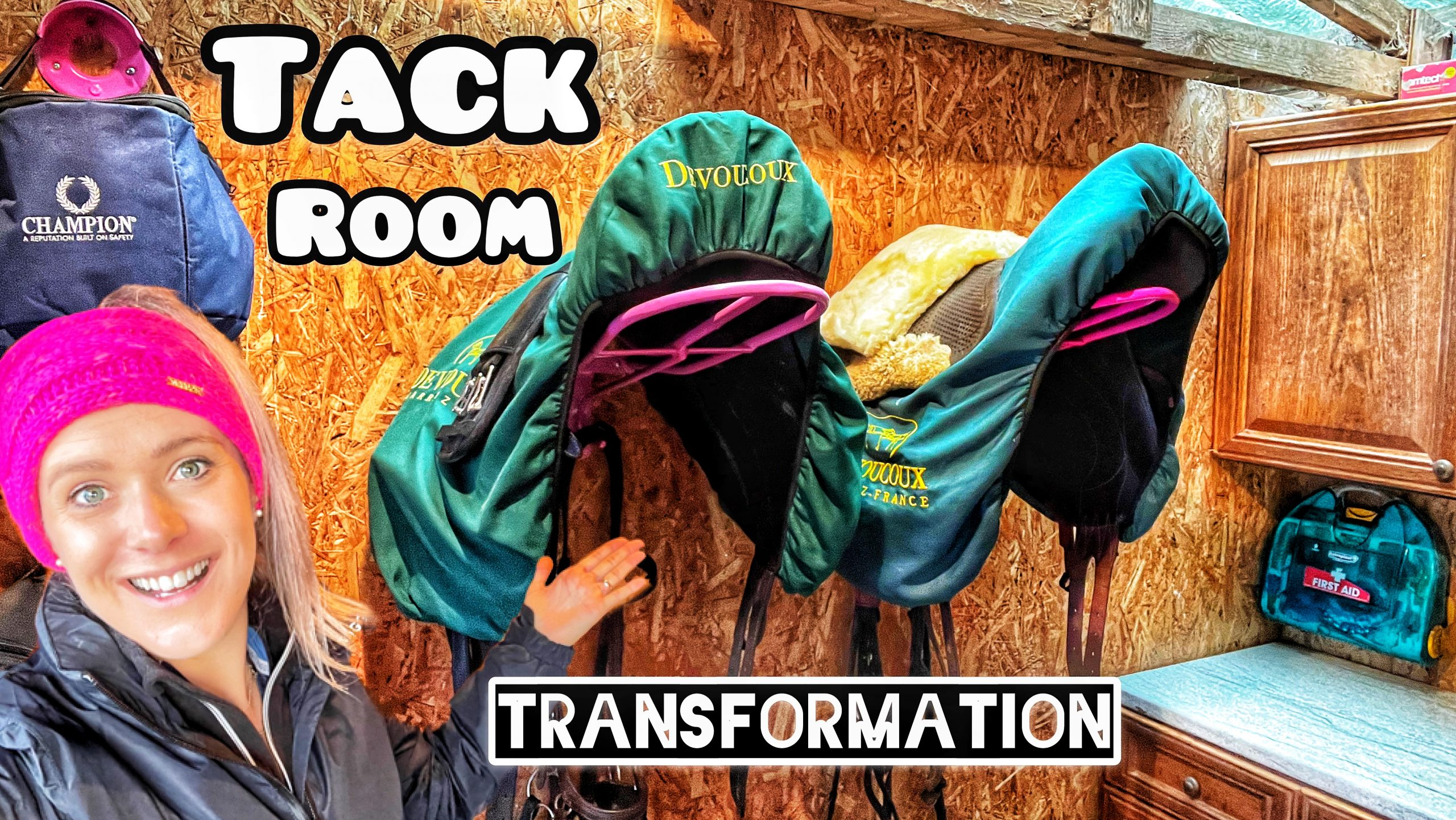 TACK ROOM TRANSFORMATION | Equestrian storage solutions | A long overdue tidy up 🧹