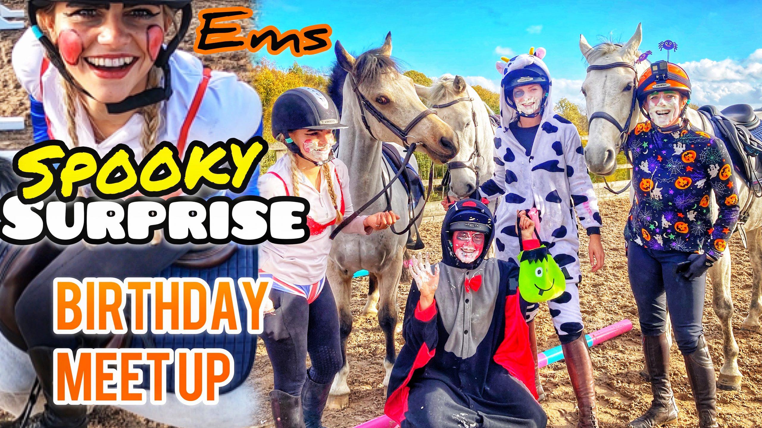VESQUAD EMS BIRTHDAY MEET UP | Jumping Megs Ponies 🦄 Halloween Games 👻