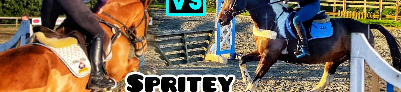 ARENA XC JUMP OFF | Banksy VS Spritey Head to Head… Who will WIN?? #EmTeeEventures