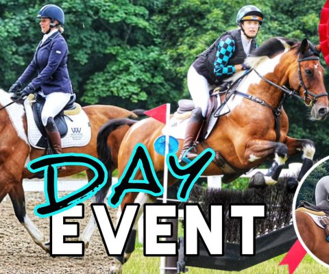 2 DAY EVENT | Competition Anxiety, Disastrous Dressage, Almost Fell Off – Yet We WON 🏆